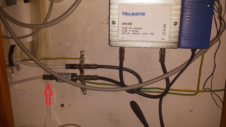 Abzweig in vorhandenes Koax-Kabel einbauen - Inoffizielles Vodafone ...